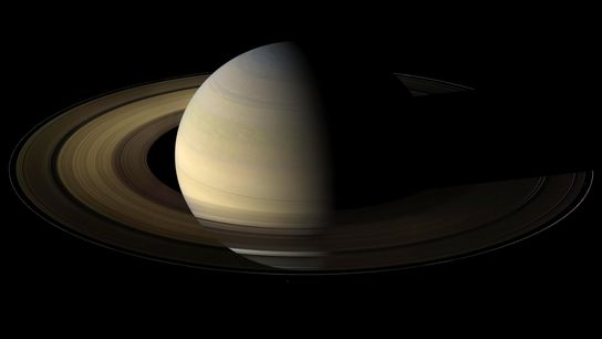 In August 2009, NASA's Cassini spacecraft became the first robotic emissary from Earth to witness an ...