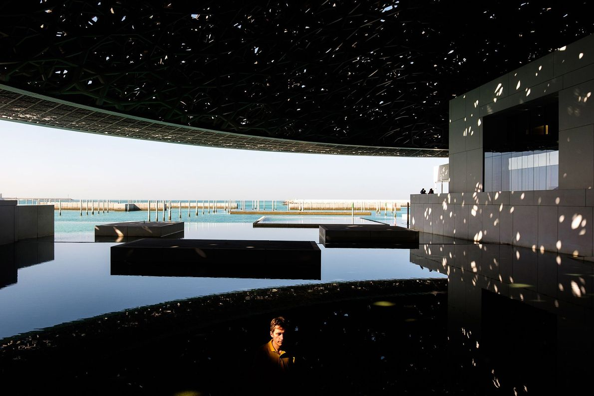 """The Louvre Abu Dhabi is a museum that showcases cultural achievements spanning prehistory to present. """"The ..."""