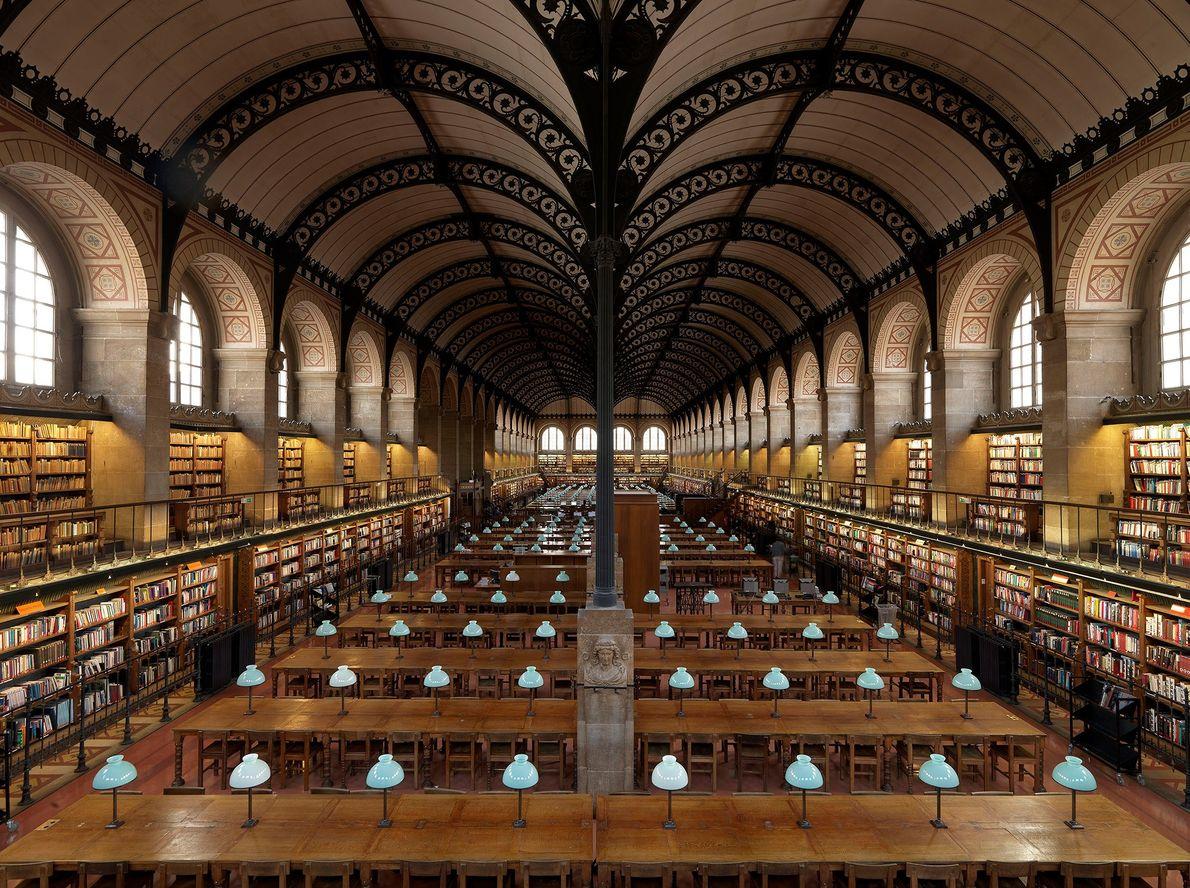 Bibliothèque Sainte-Geneviève, Paris, France