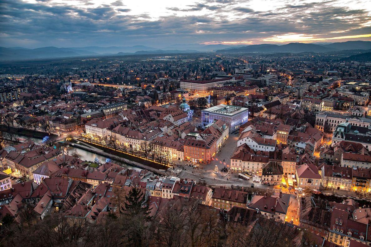 Ljubljana, central Slovenia