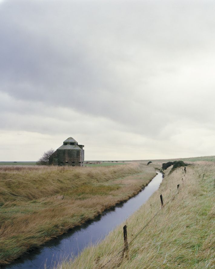 "Dengie peninsula, Essex, 2011. Marc Wilson: ""In the eventuality of a German landing, Burnham-on-Crouch on the Dengie ..."