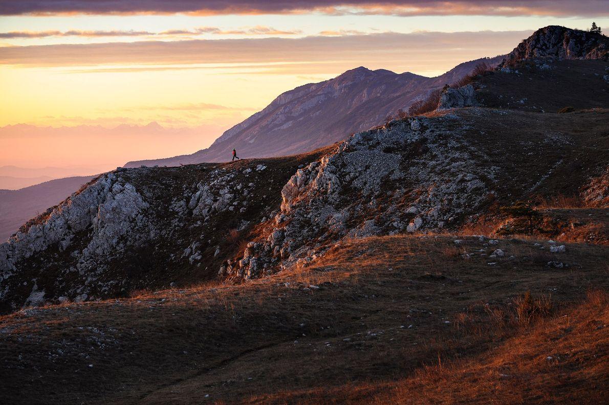 Kvok, southwestern Slovenia