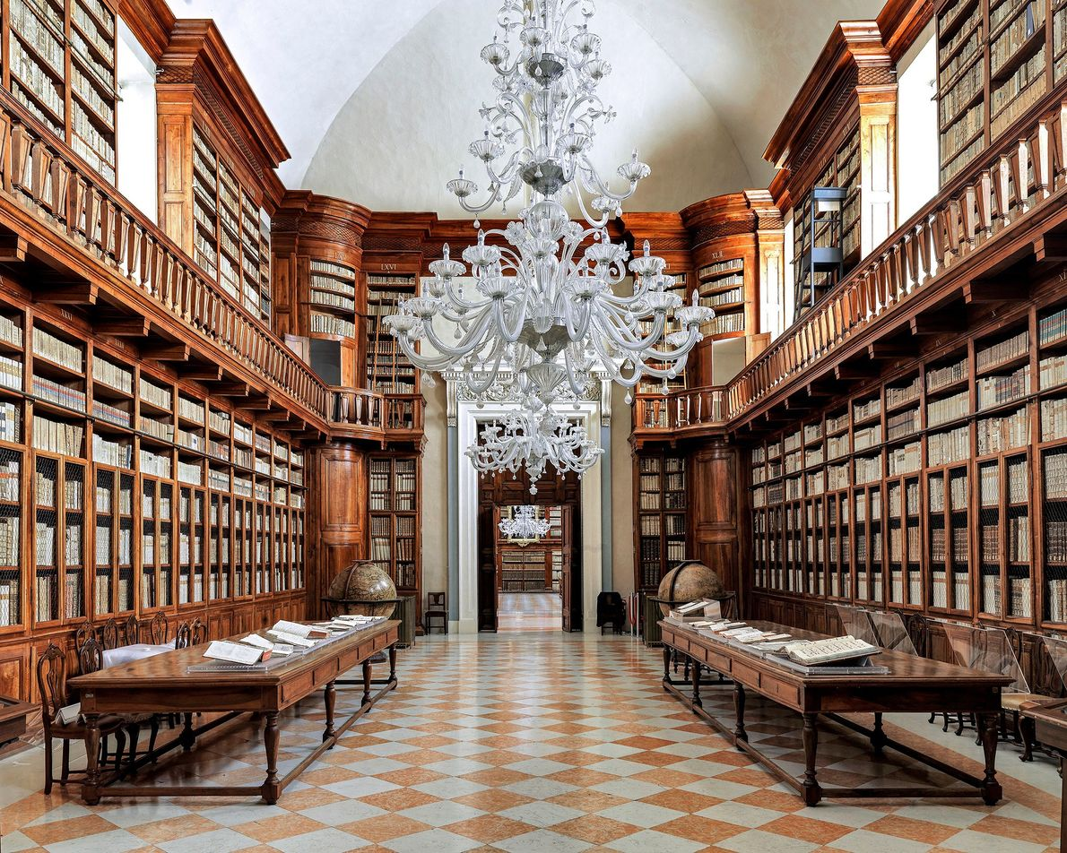 Biblioteca Teresiana,  Mantua, Italy