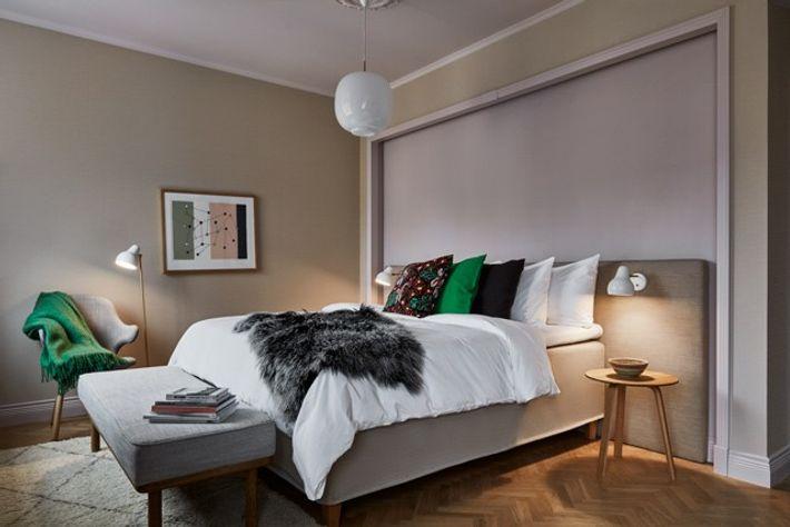 Bedroom in Hotel St George