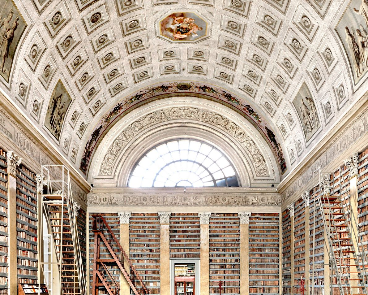 Biblioteca Palatina, Parma, Italy