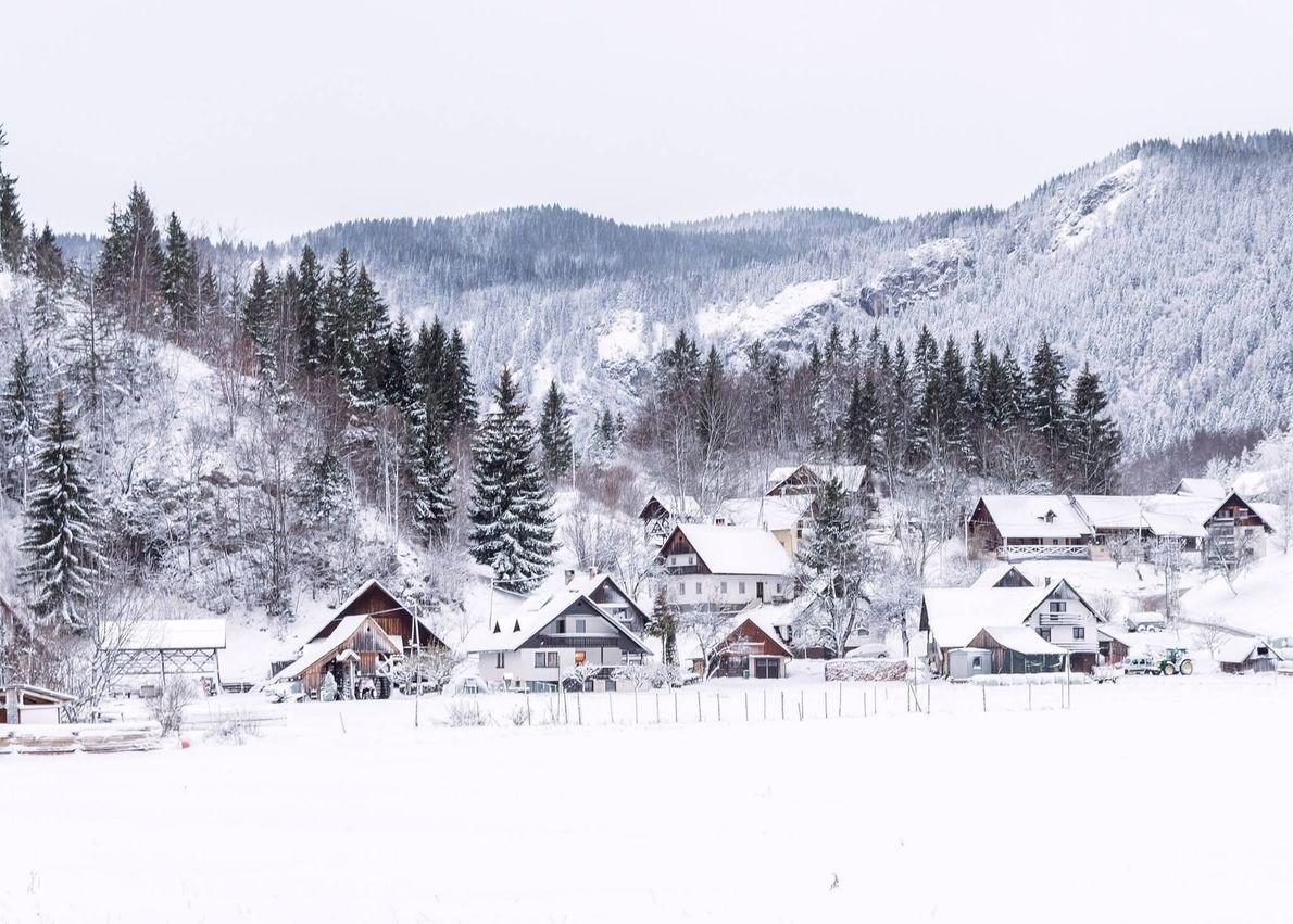 Koprivnik, southern Slovenia
