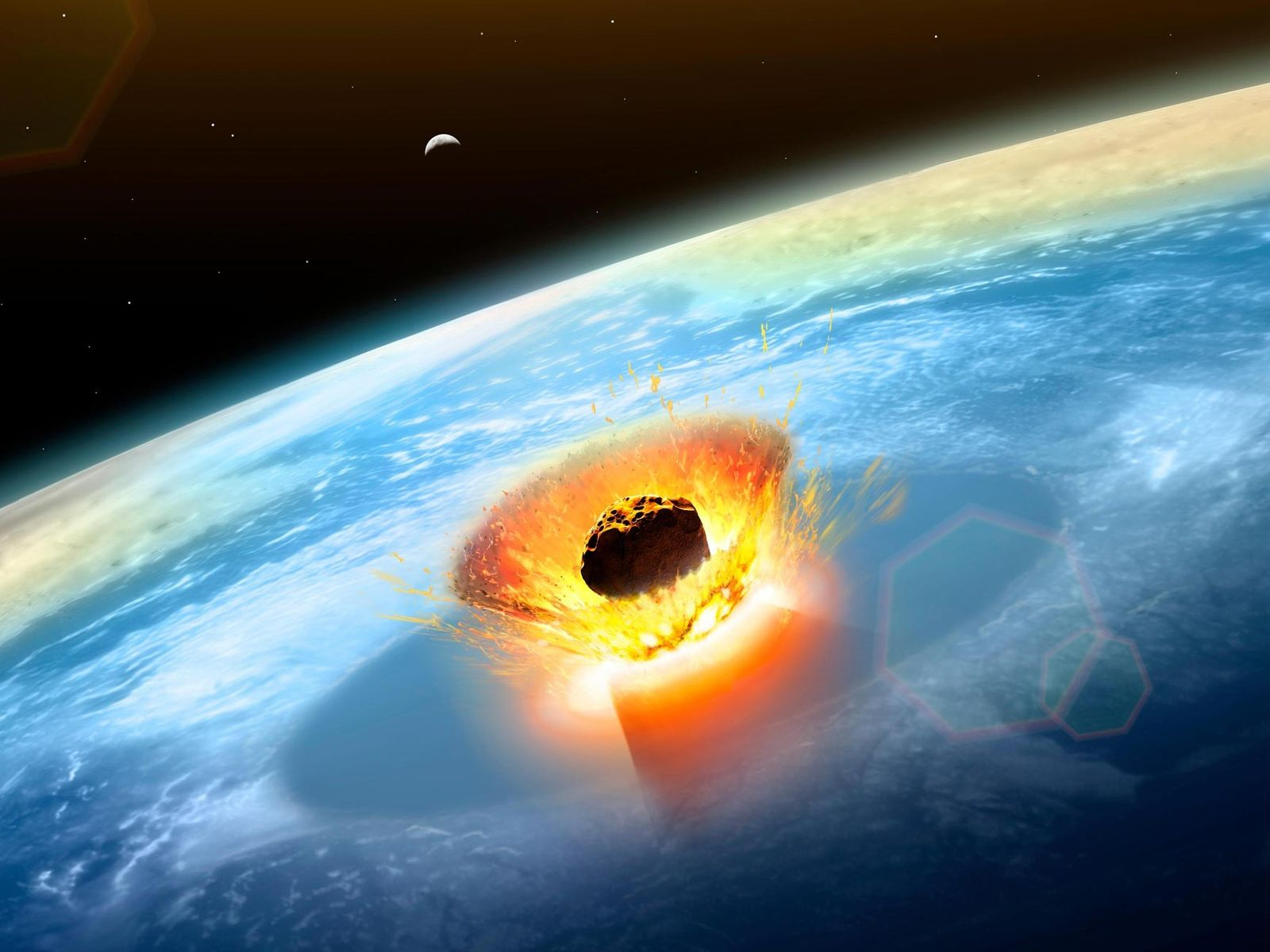 In an instant, the Chicxulub impact forever changed life on Earth—blasting out a huge crater, vaporising ...