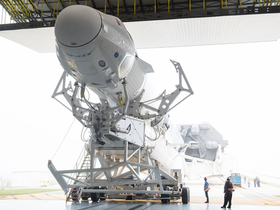 SpaceX launches its first crew capsule. Here's what that means.