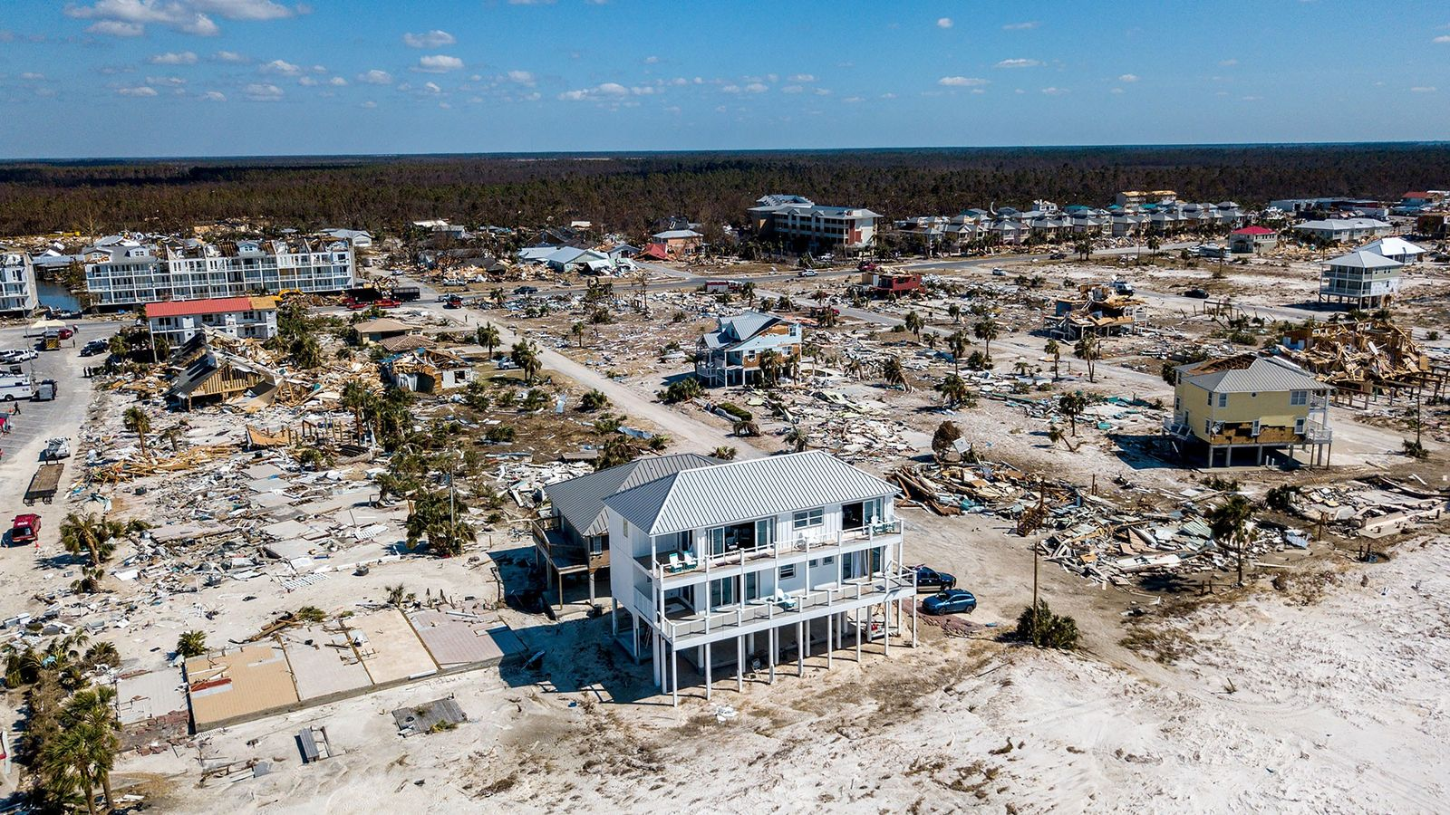 The home Russell King and his nephew Lebron Lackey had built to withstand 250-mph winds in ...