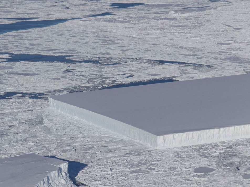 Find Out Why This Iceberg Is Perfectly Rectangular