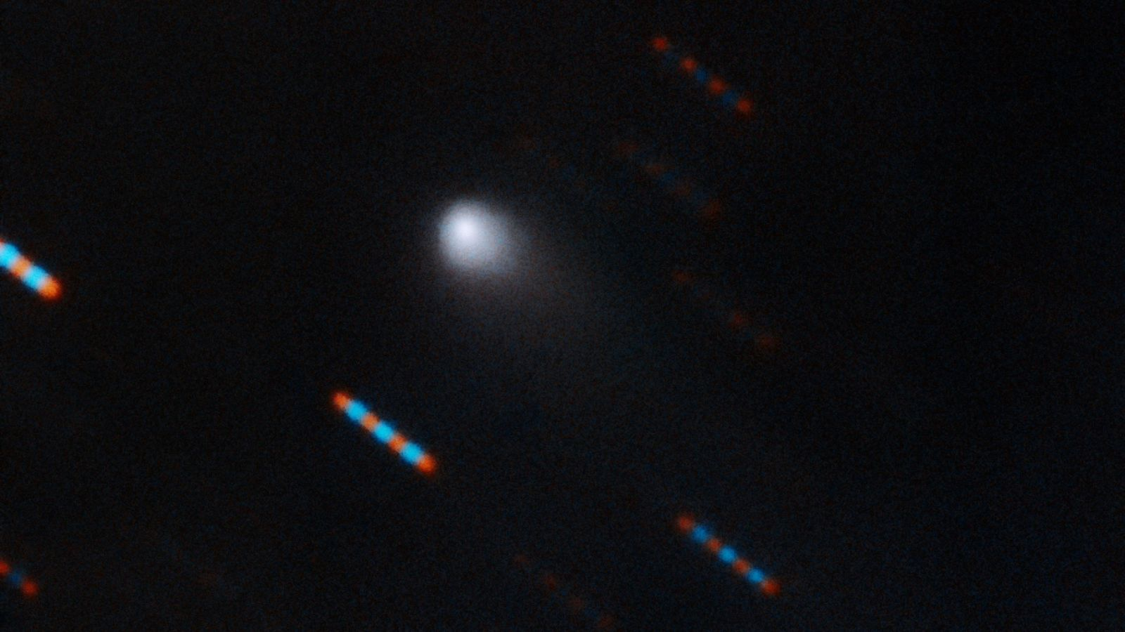 Hawaii's Gemini Observatory recently captured a two-colour composite image of 2I/Borisov, the second interstellar object ever ...