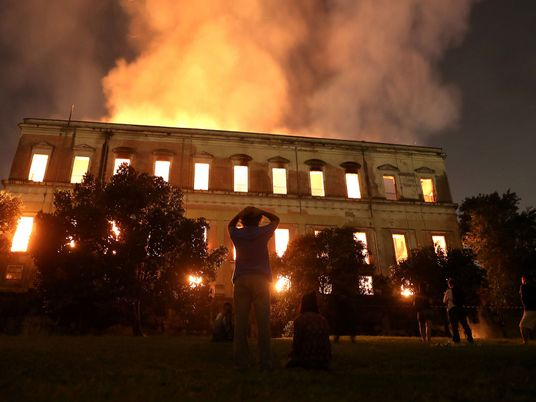 Grief and Anger Mingle After Devastating Brazil Museum Fire