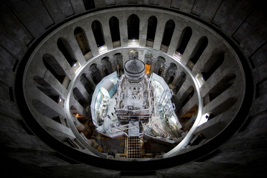 Exclusive: Christ's Burial Place Exposed for First Time in Centuries