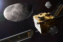 DART, NASA's first planetary defense mission, will demonstrate asteroid deflection by crashing the APL-built spacecraft into ...
