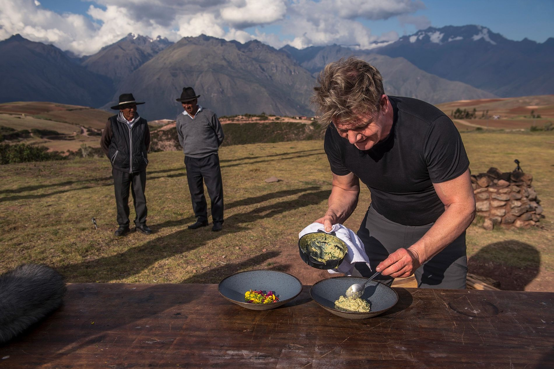 <p>Chef Gordon Ramsay gets inspired by the indigenous ingredients of Peru's Sacred Valley.</p>