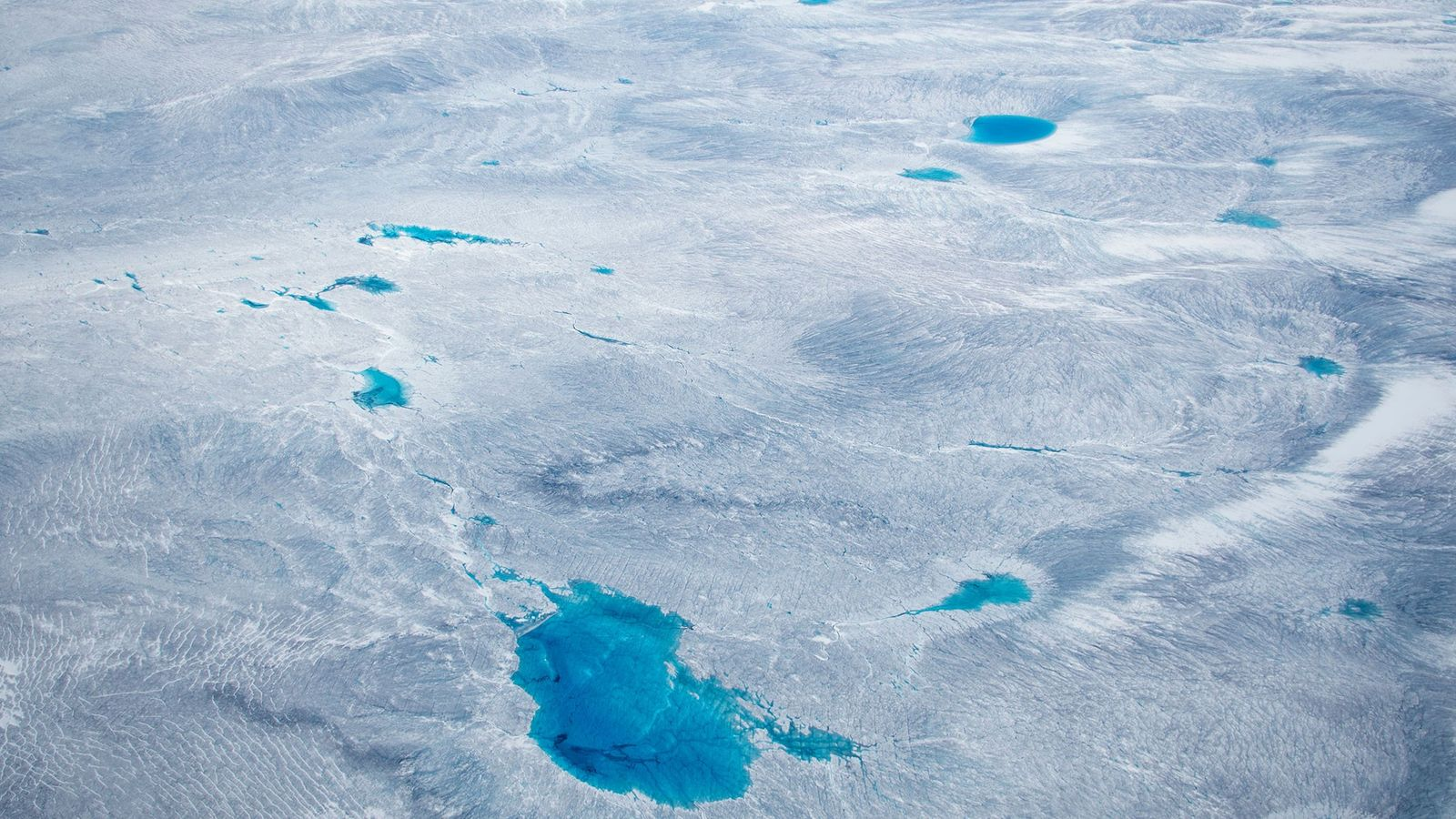 Greenland is covered with a vast amount of ice—but for how long?