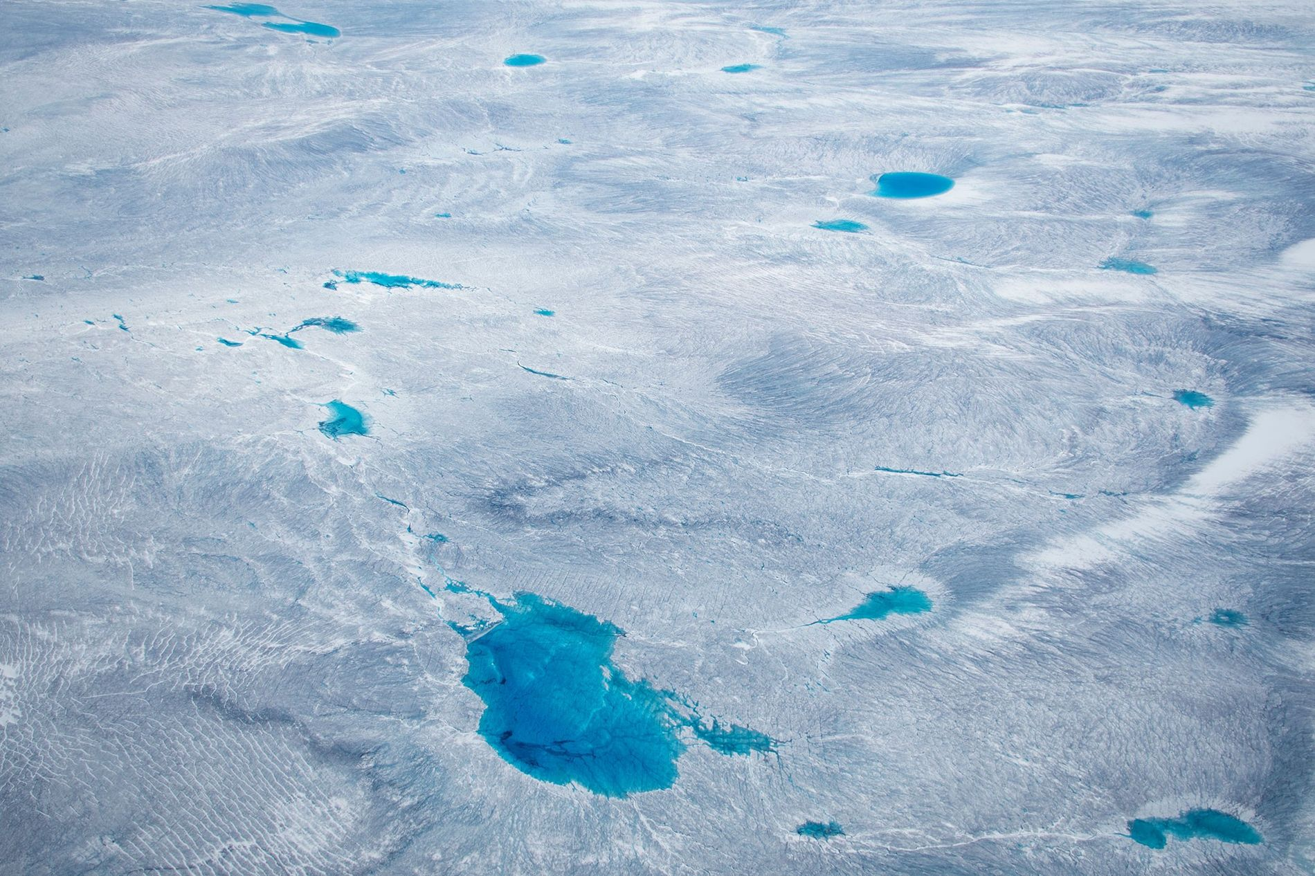 Greenland is covered with a vast amount of ice—but for how long?  ...