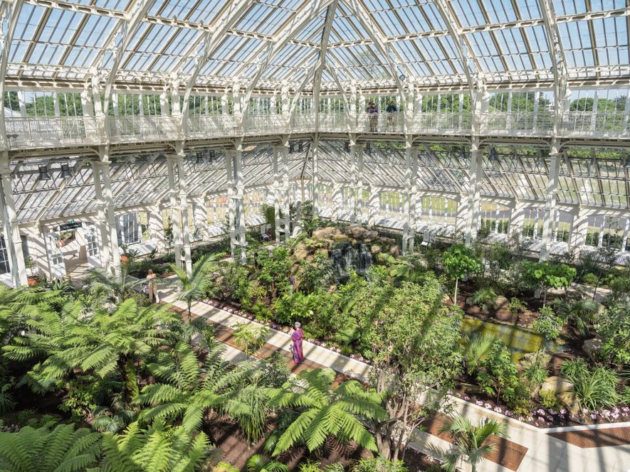 More than 250 years old, the Royal Botanic Gardens at Kew is one of the world's ...