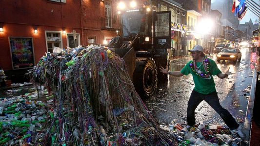 It's time to rethink Mardi Gras—without tons of plastic beads