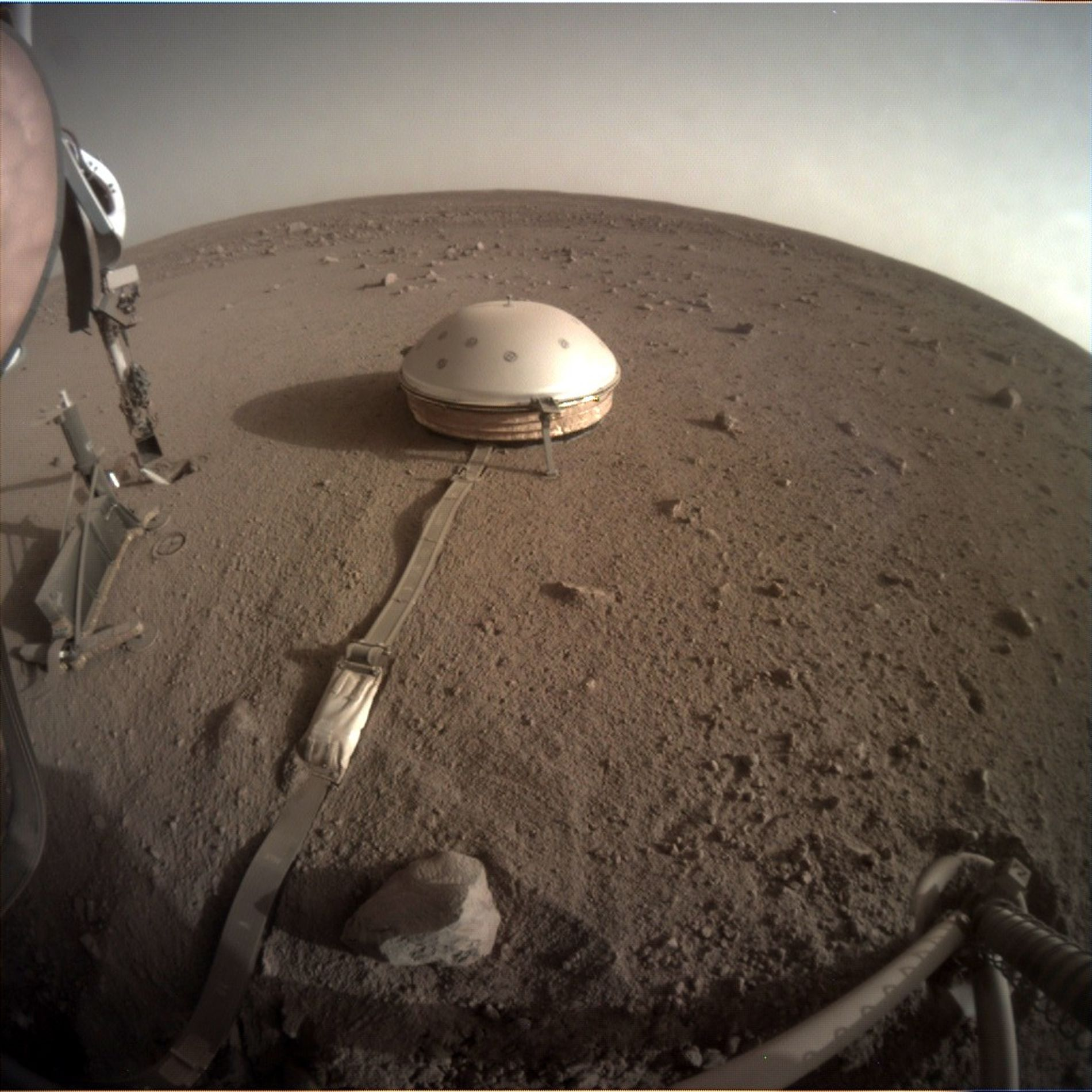 InSight is designed to map out Mars's interior structures. Among the spacecraft's many instruments, InSight carries ...