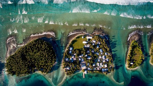 Rising seas give island nation a stark choice: relocate or elevate