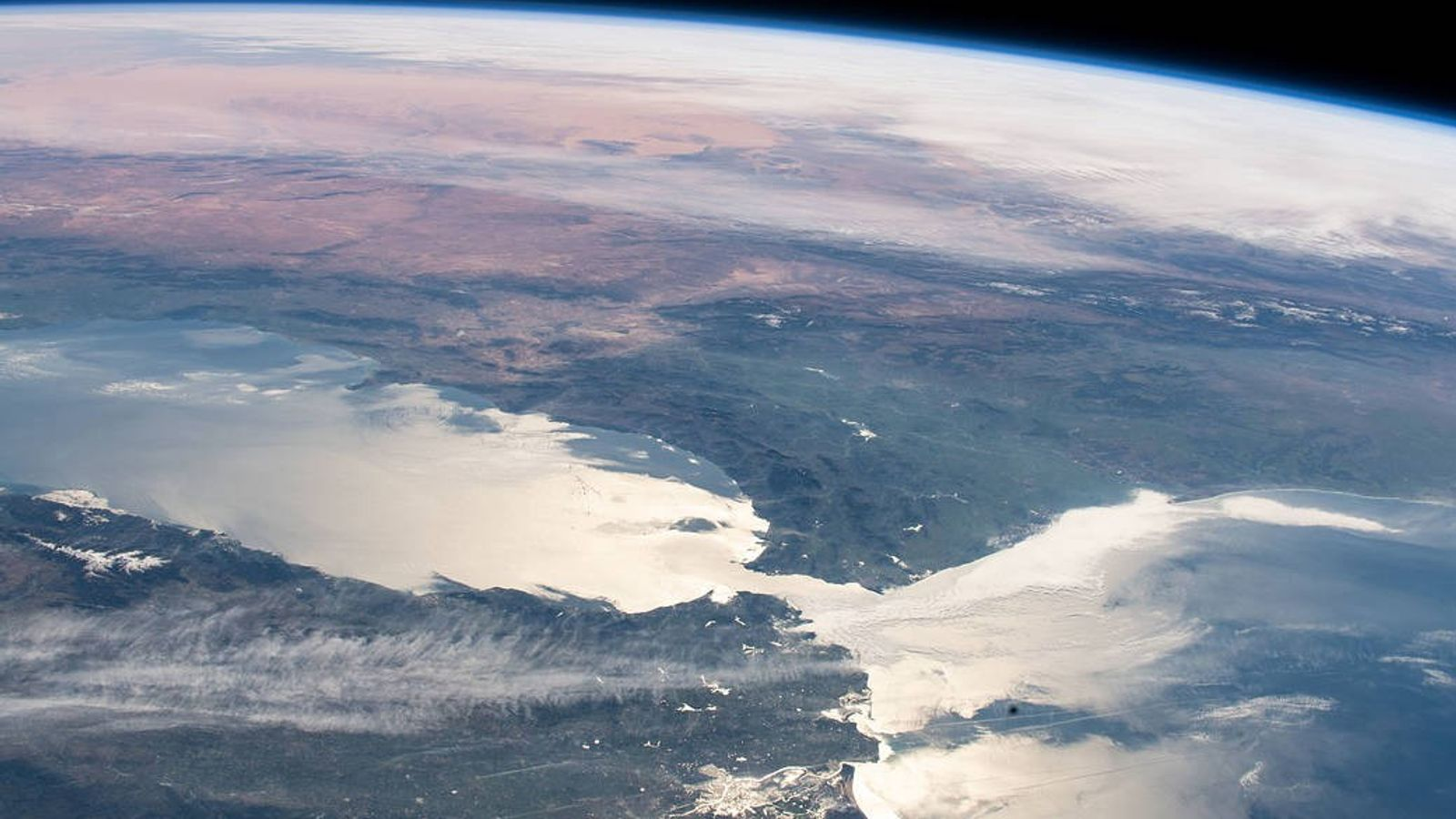 The Mediterranean Sea's only connection to the world's oceans is through a narrow strip of water ...