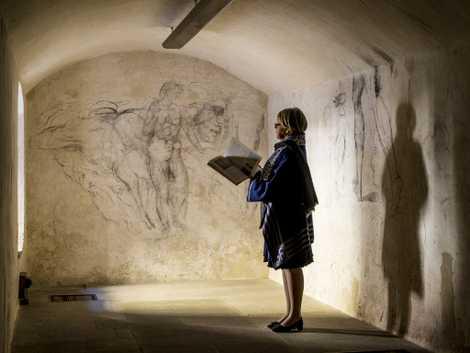 Exclusive: Secret Room Holds 'Lost' Michelangelo Artwork