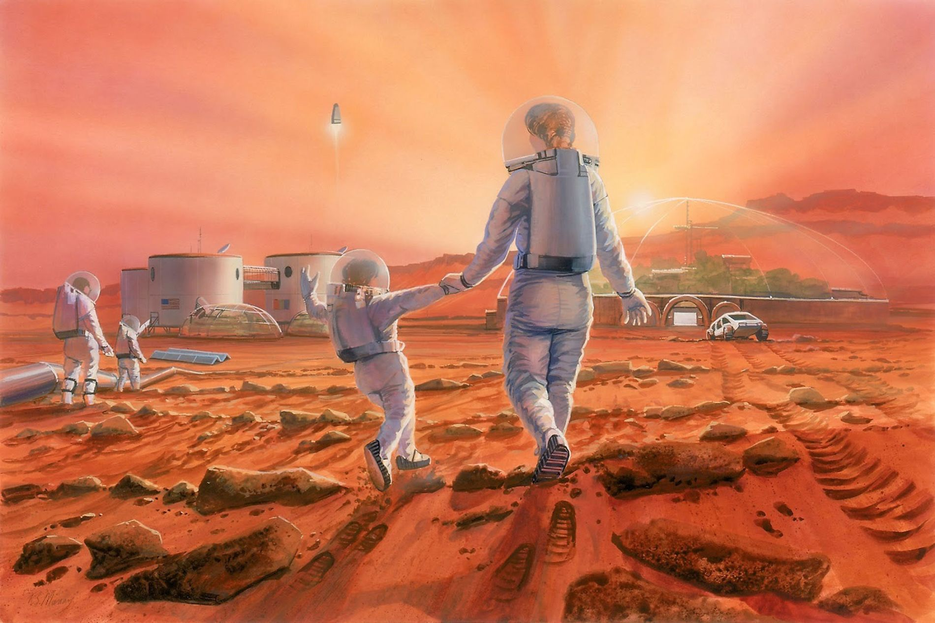 Image result for mars family space