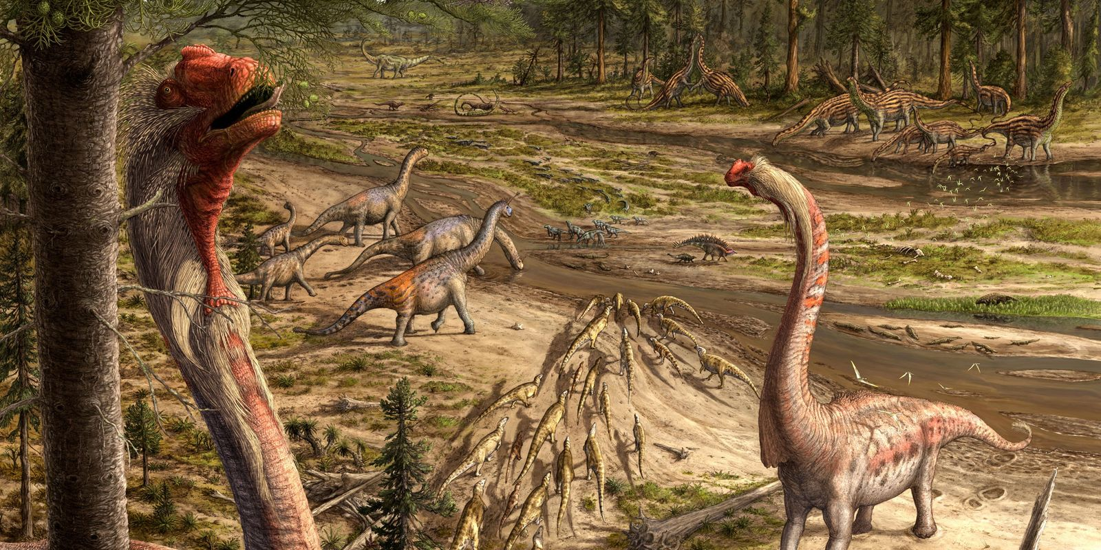 How art can bring dinosaurs back to life