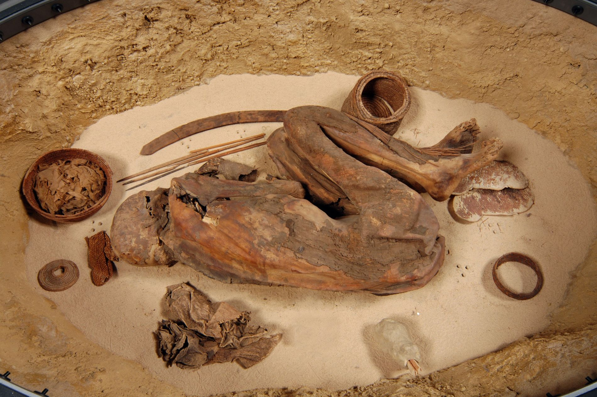 Researchers long thought the prehistoric mummies of Egypt were created by accident. But mounting evidence suggests ...