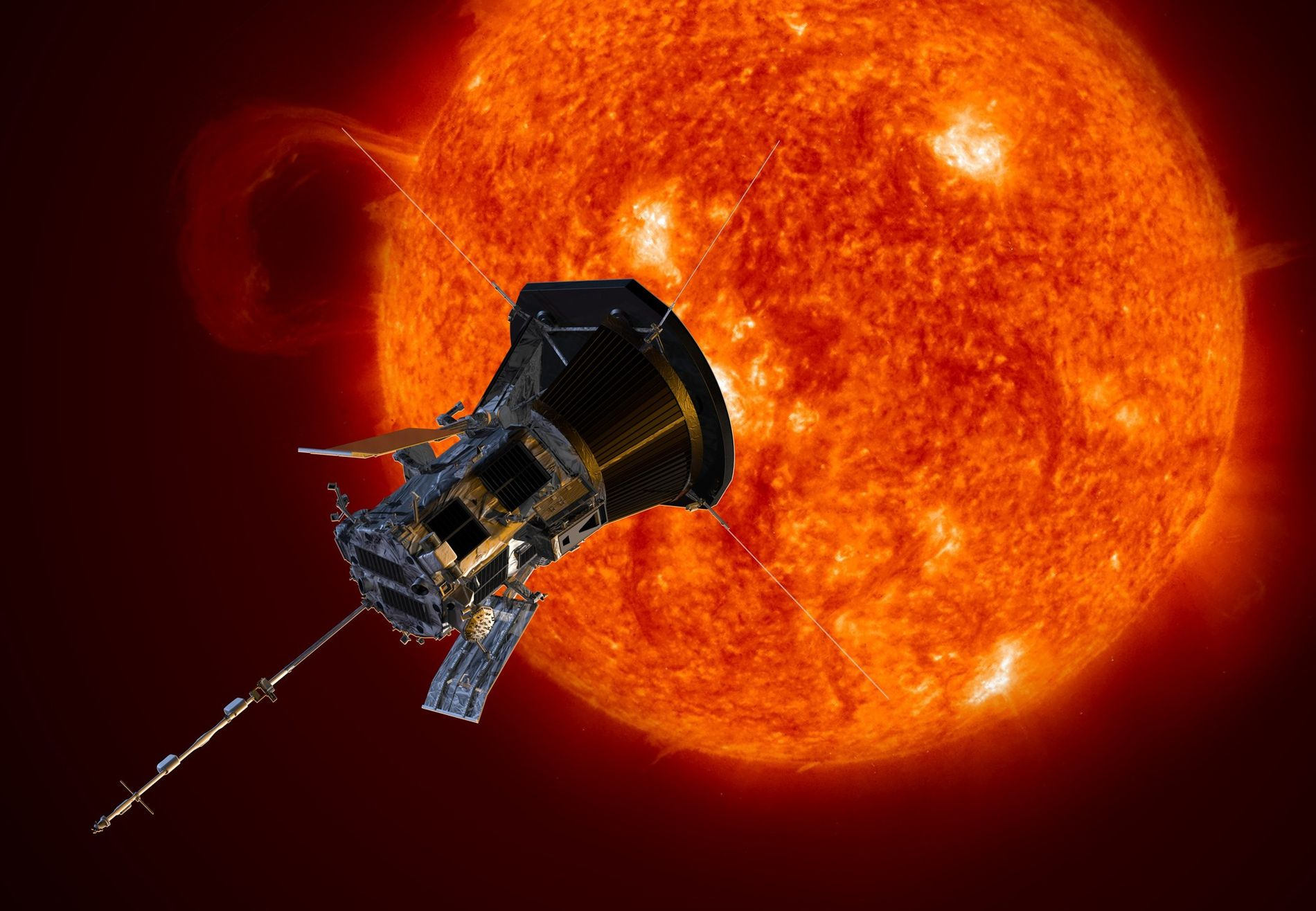 The sun keeps getting stranger, dive-bombing solar probe shows