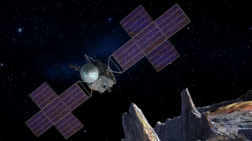 Heavy-metal space volcanoes may have forged gem-studded meteorites