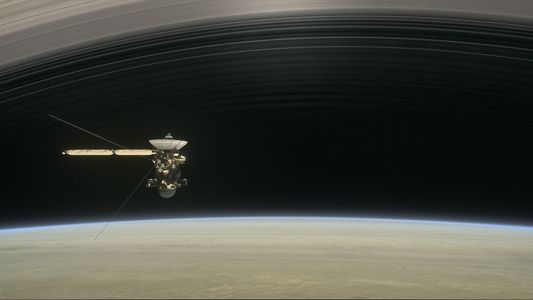 A Dying Spacecraft Tasted The 'Rain' from Saturn's rings