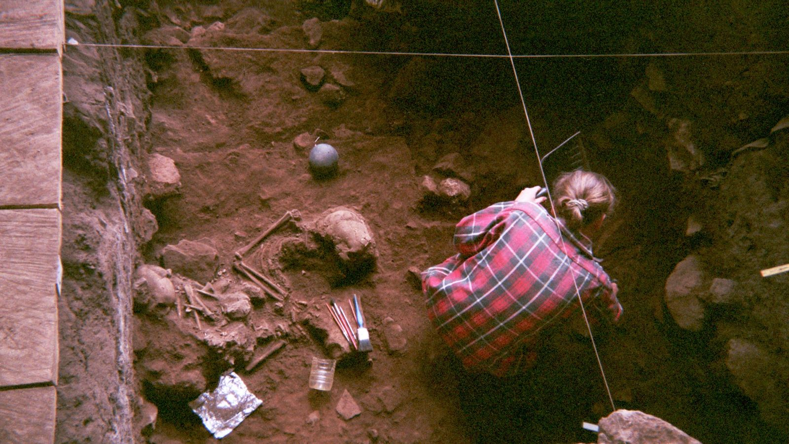 For the first time, scientists analyzed the ancient genetics of four individuals from the Shum Laka ...