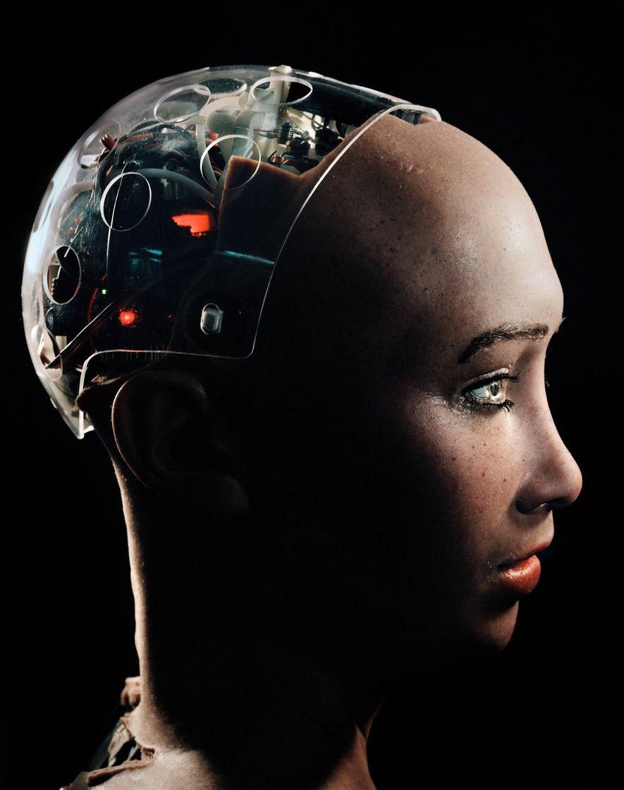 Meet Sophia, the Robot That Looks Almost Human