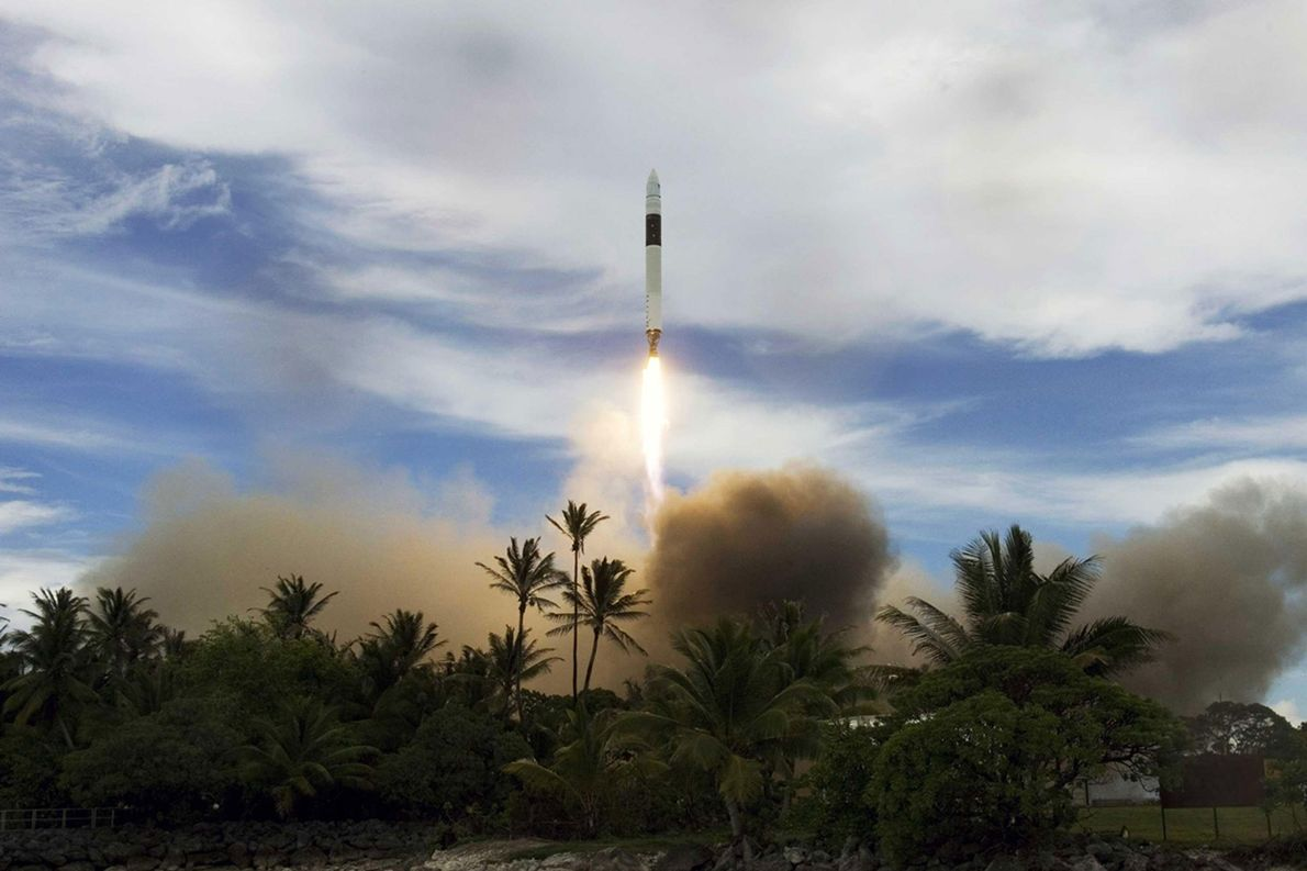 After three failed launches, SpaceX CEO Elon Musk scraped together enough funding to launch a fourth ...