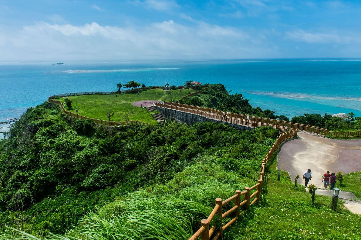 Okinawa, Japan, is a so-called Blue Zone, one of the places in the world that's conducive ...