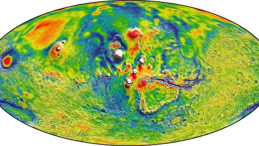 Three Cool Things We've Learned From NASA's Mars Gravity Map
