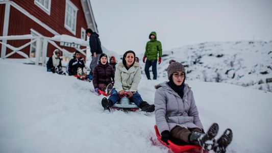 See What Life Is Like for Refugees Above the Arctic Circle