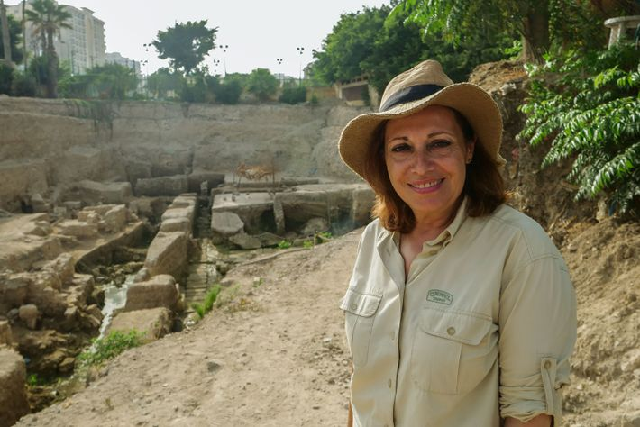 Archaeologist Calliope Limneos-Papakosta has been digging for more than 20 years in hopes of finding the ...