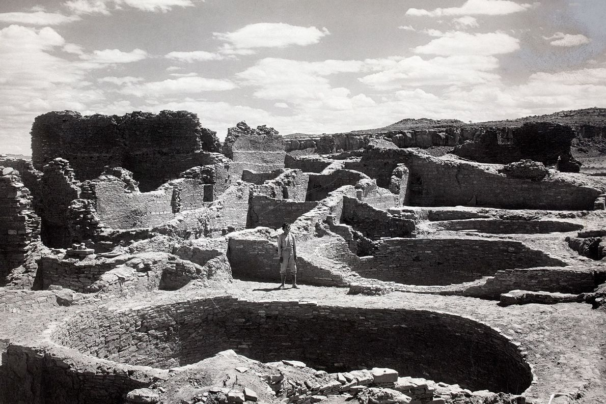 National Geographic partnered with the Smithsonian in the 1920s for the multi-year excavation of Pueblo Bonito, ...