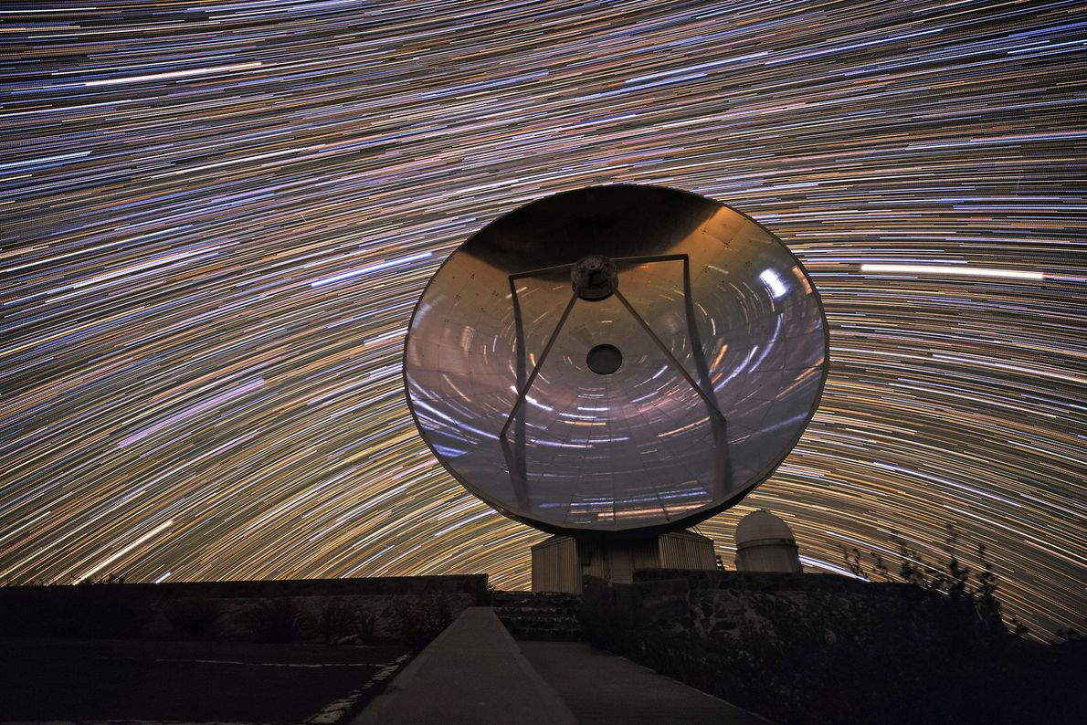 On May 3, the European Southern Observatory released this multi-exposure picture of the Swedish-ESO Submillimetre Telescope. ...