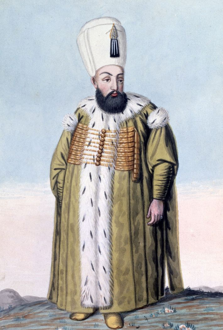 Murad III, the Sultan of the Ottoman Empire, wrote letters to Elizabeth that were dusted in ...