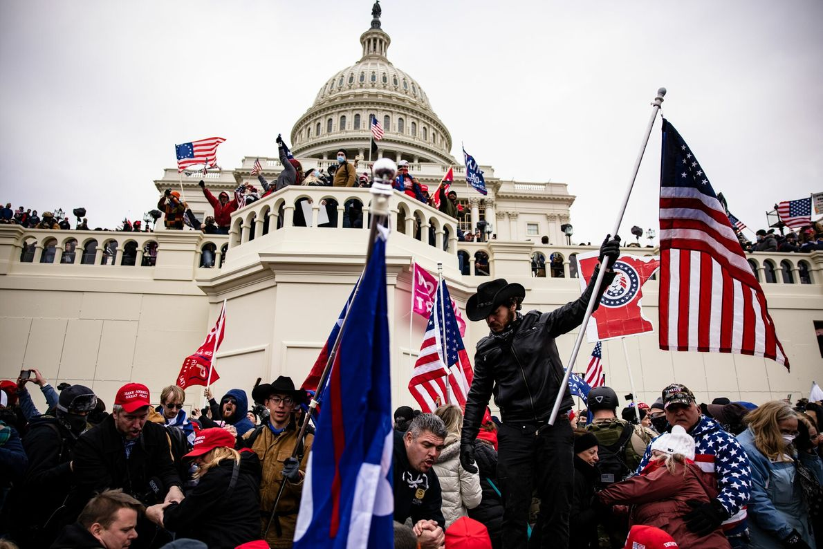 On Wednesday afternoon, a group of supporters of President Donald Trump stormed the U.S. Capitol in ...