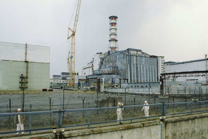 A few months after reactor 4 of the Chernobyl nuclear power plant went up in toxic ...