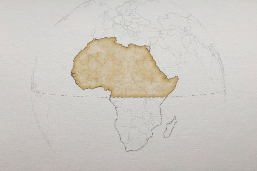 Most of Africa is north of the equator, though on many mental maps it is mostly ...