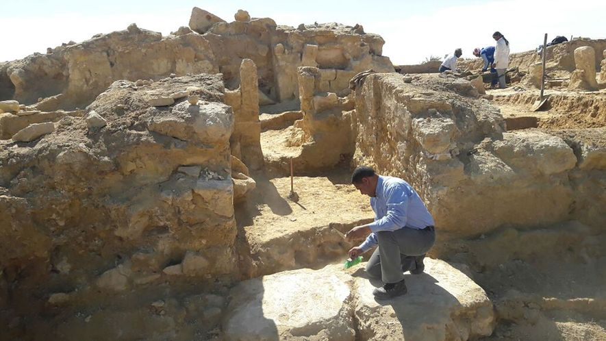 Greco-Roman Temple Unearthed in Egypt