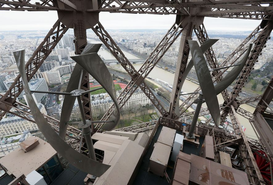 The Eiffel Tower underwent a four-year retrofit to help Paris meet its goal of reducing energy ...