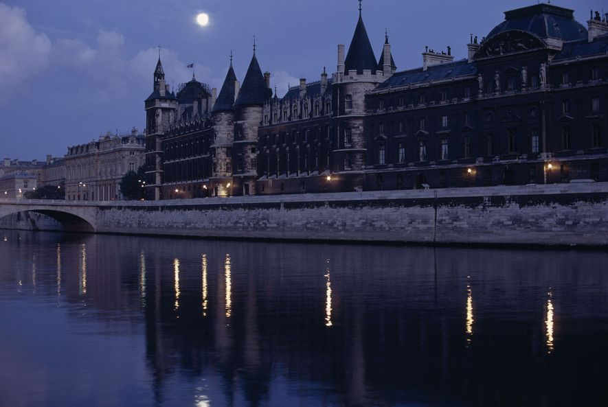 Forbidding fortress, the Conciergerie through the centuries imprisoned the accused in its towers and dungeons. The ...