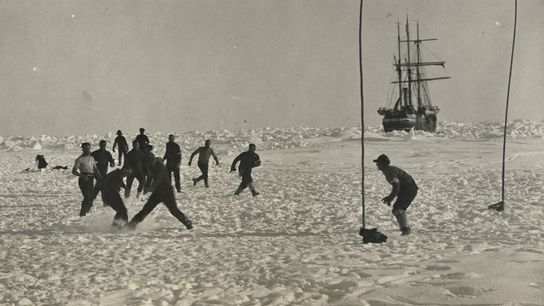 Explorer Ernest Shackleton and his crew faced months of isolation, risk, and uncertainty after their ship ...